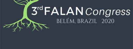 3rd FALAN Congress Belém Brazil 2020